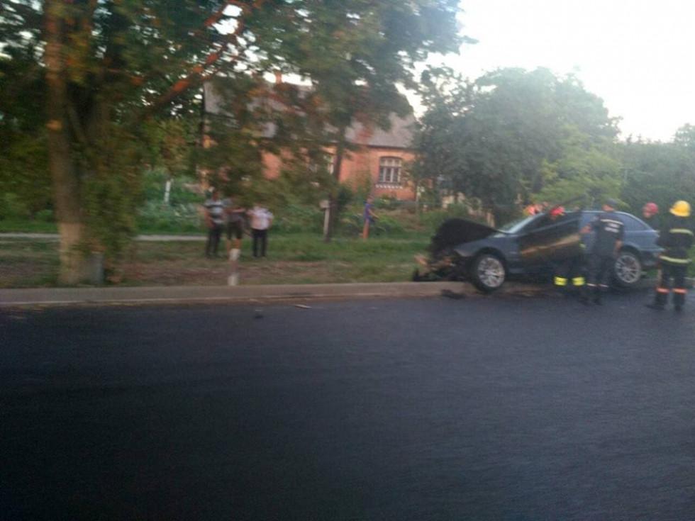 Дві іномарки втрапили в аварію