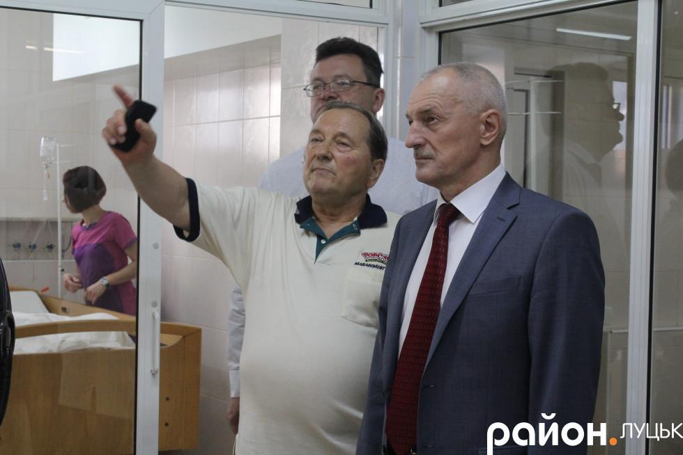 Олександр Савченко та Іван Сидор
