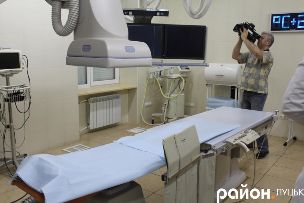 Обладнання комфортне для пацієнтів