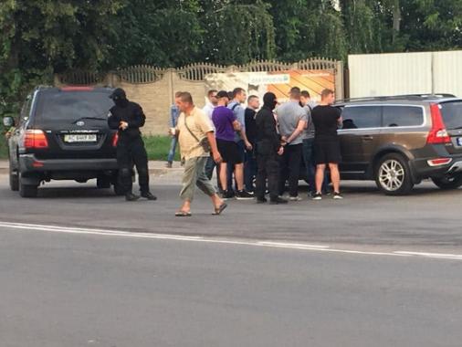 Спецоперація на Львівській в Луцьку
