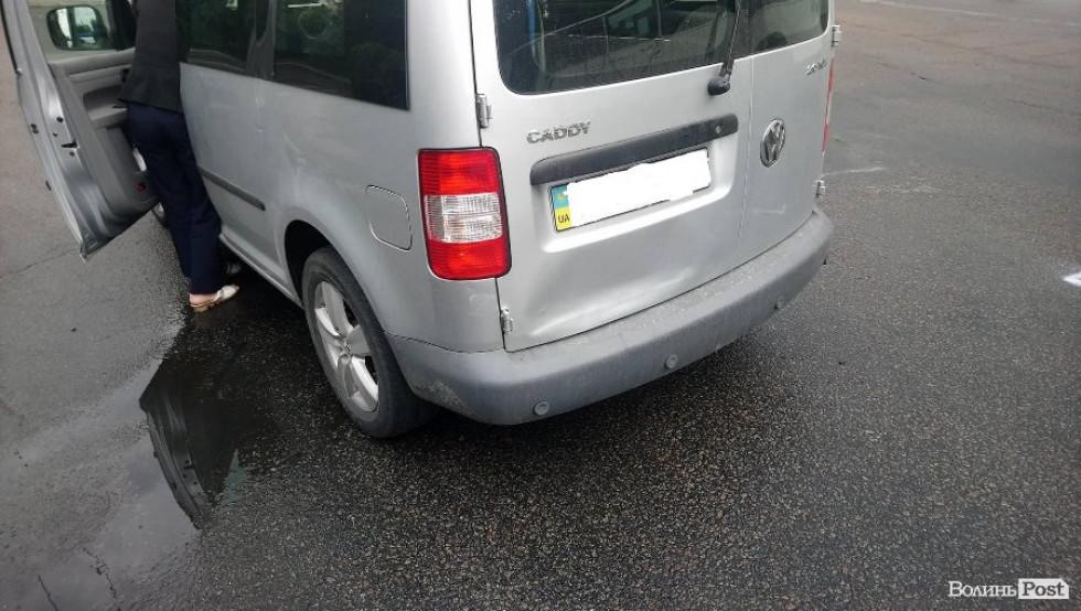 Автівки зазнали незначних пошкоджень