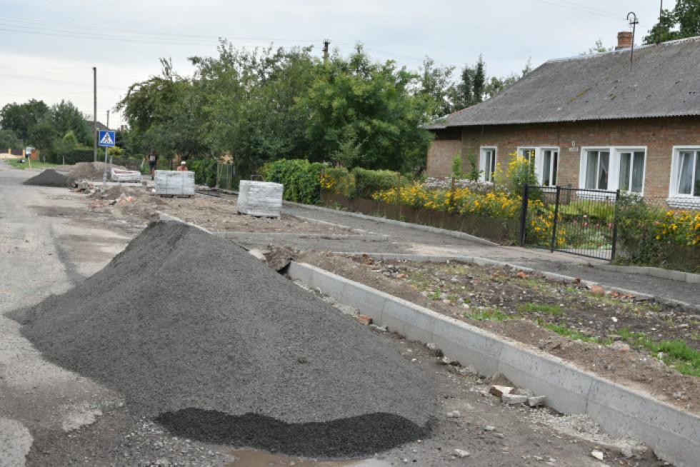 Дорогу ремонтують