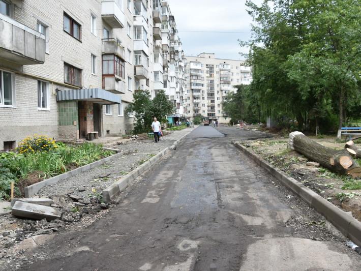 Ремонтують прибудинкові території