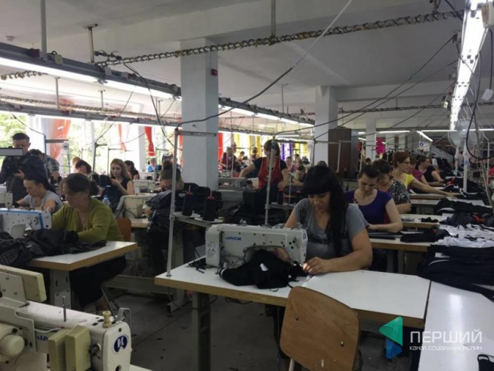 Працівники «Мода – Текс» під час роботи