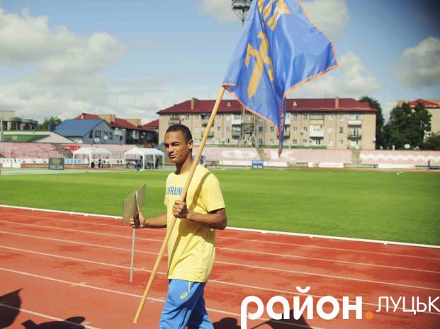 У Луцьку відкрили Чемпіонат України з легкої атлетики