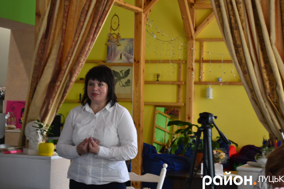 Голова громадської організації «Даун-синдром» Олена Мельник