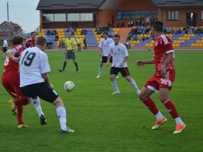 Футбол на боратинському стадіоні