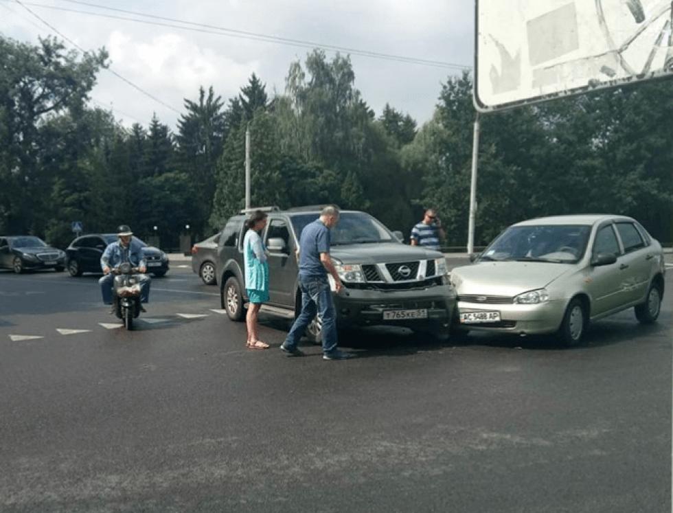 Аварія на перехресті