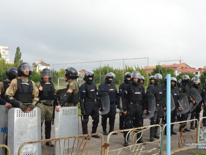 У Луцьку тренувалися правоохоронці