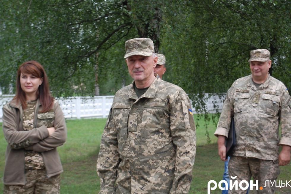 Очільник Волинської ОДА Олександр Савченко