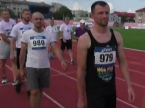 Ветерани АТО долали забіги в400 та 1500 метрів