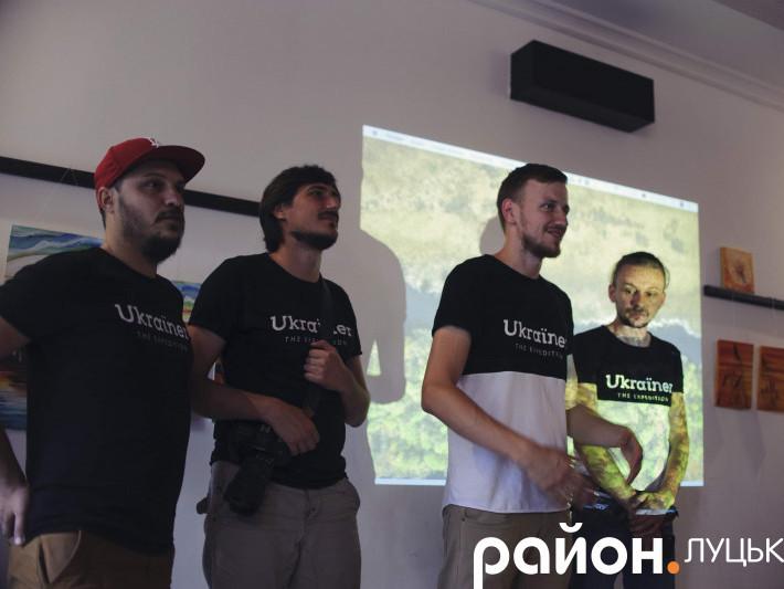 Учасники експедиції «Ukraїnеr»