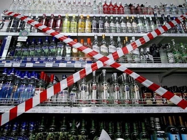 У центрі Луцька три дні не торгуватимуть алкоголем