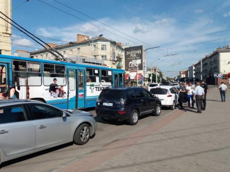 ДТП у центрі Луцька