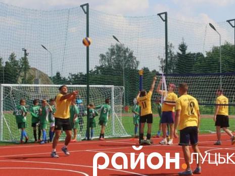 Відкриття стадіону в Княгининку
