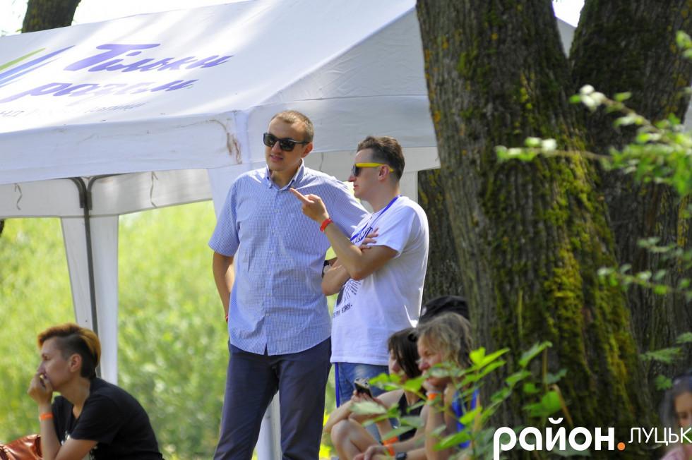 Підприємець Богдан Климчук та шоумен Михайло Кузьмич