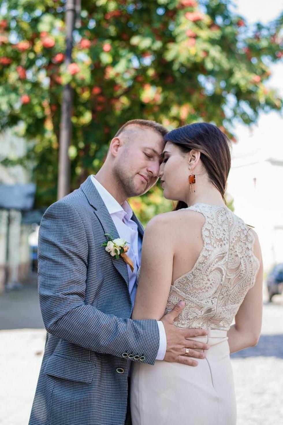 Весільні фото наречених
