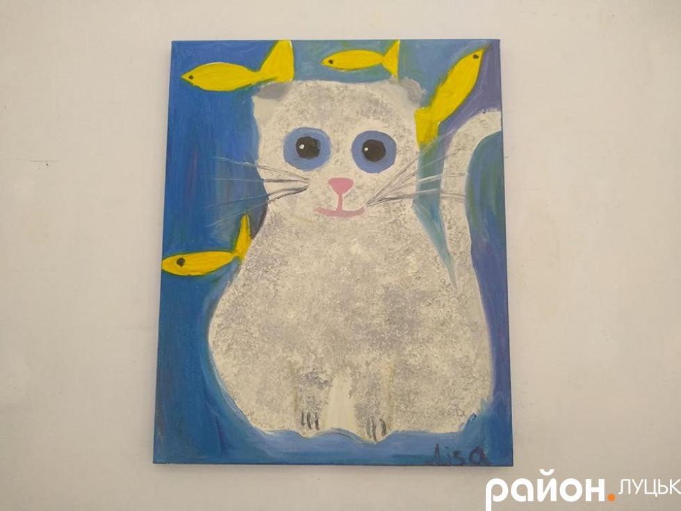 Виставка дитячих картин у Луцьку