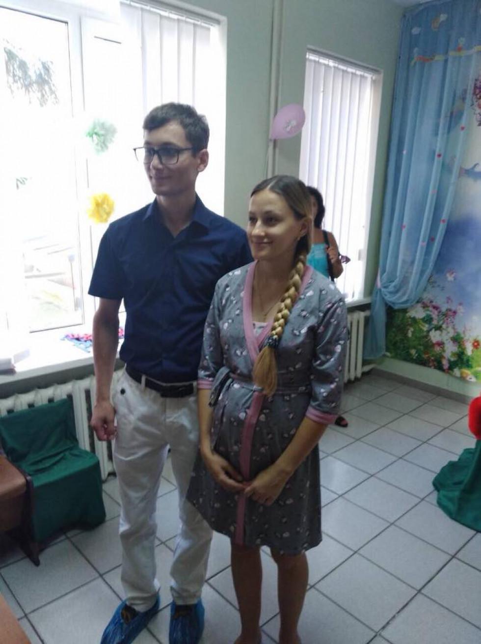 Батьки малюка Юрій та Катерина