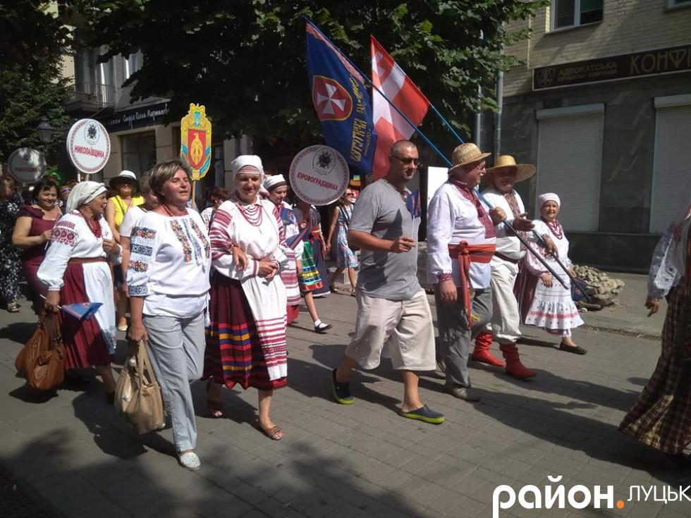 Учасники з Миколаївщини і Кіровоградщини