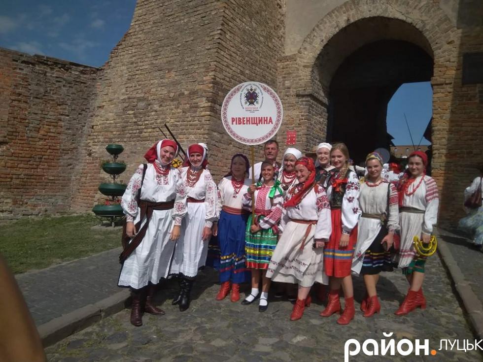 Учасники фестивалю з Рівненщини
