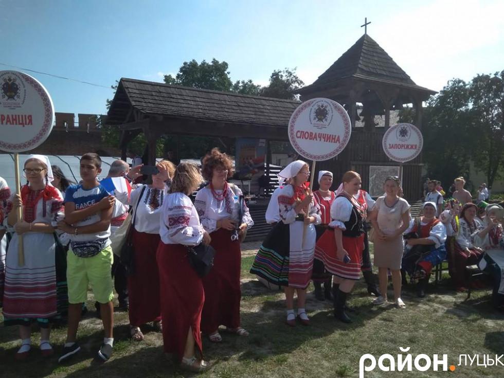 Учасники фестивалю з Словаччини та Запоріжжя