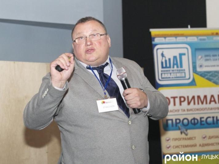 Віктор Корсак - один з засновників музею