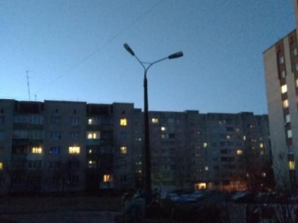 На вулицях темно