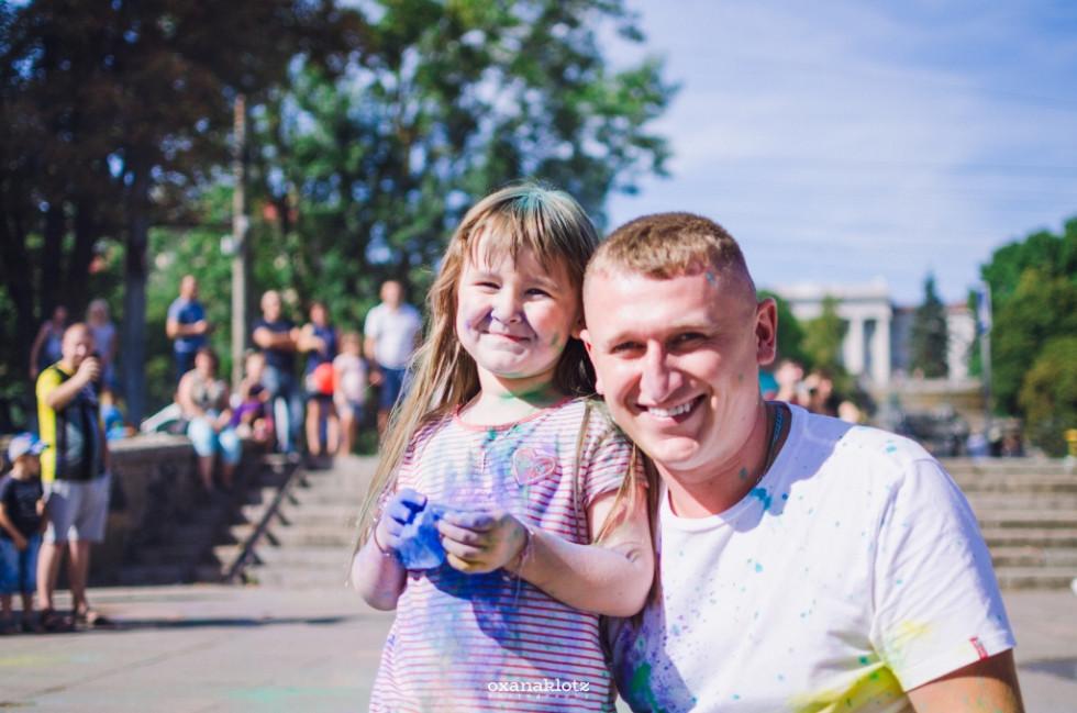Батько з донькою