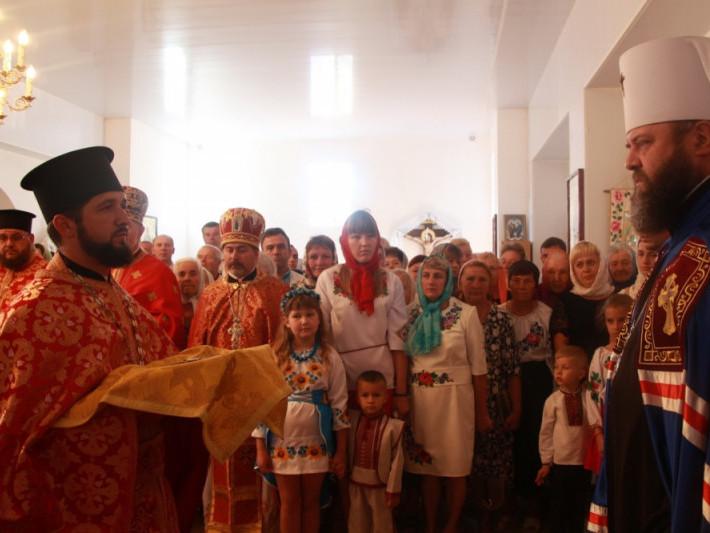 У Підгайцях відбулося освячення храму