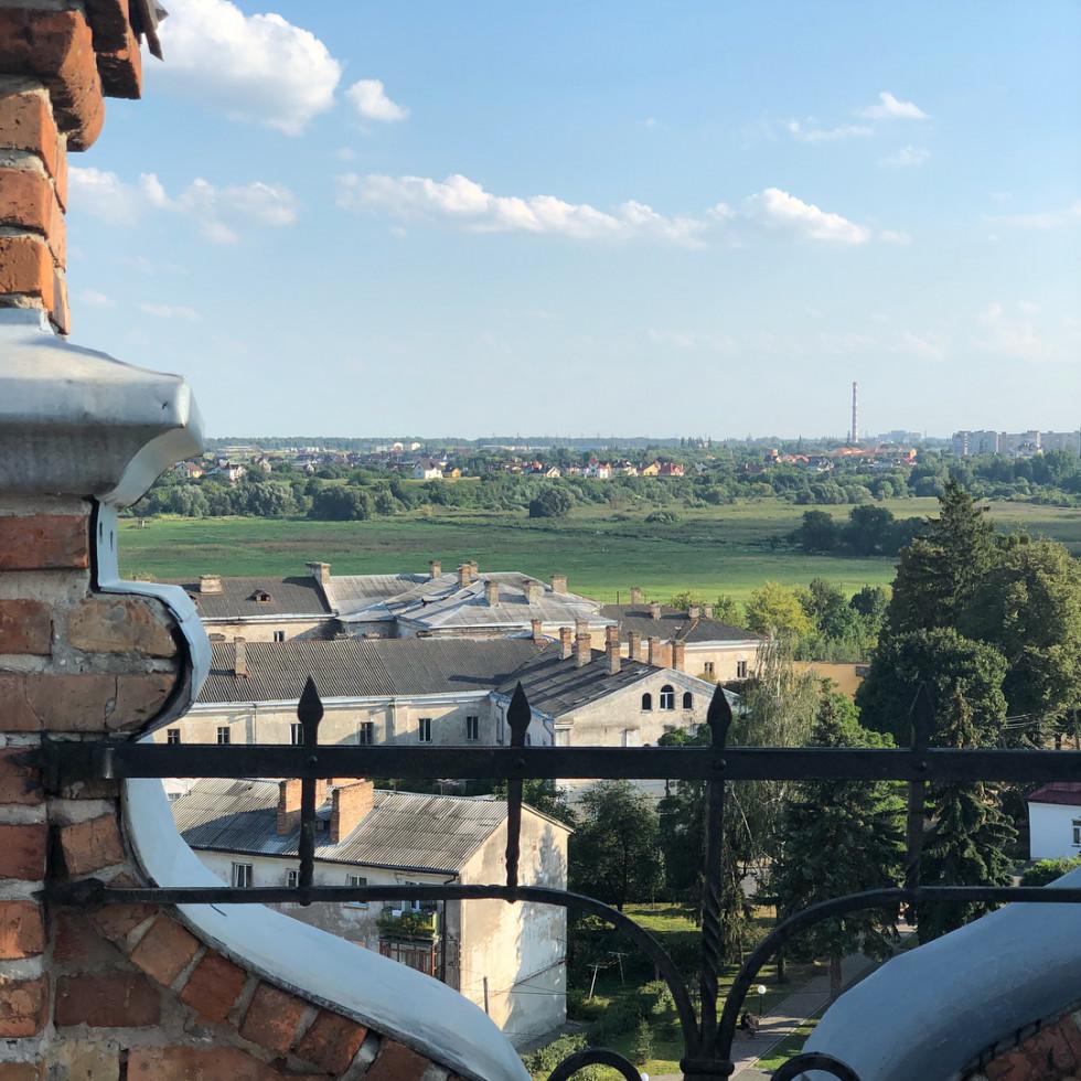 Вид із замку на фото Олени Кравець