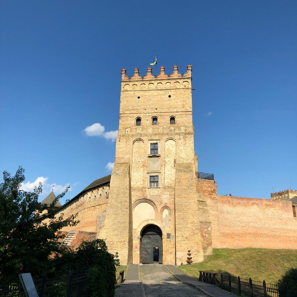 Замок Любарта на фото Олени Кравець