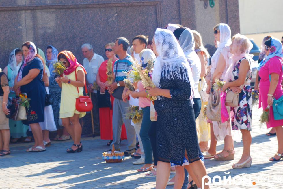 Свято Медового Спаса у луцькому храмі