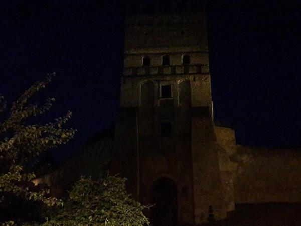 Луцький замок тоне в темряві