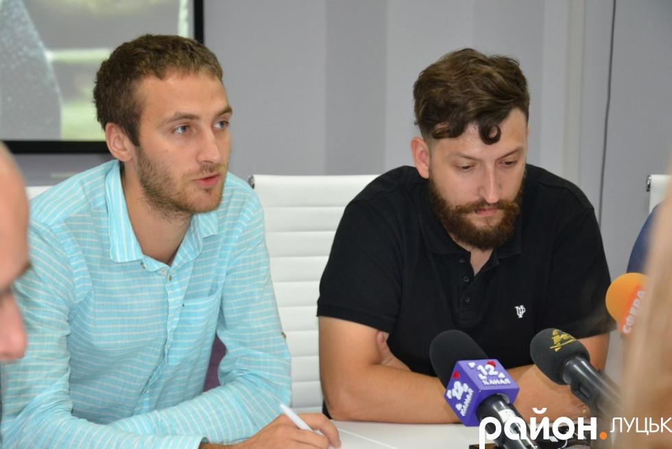 Микола Собуцький та Сергій Ліманов