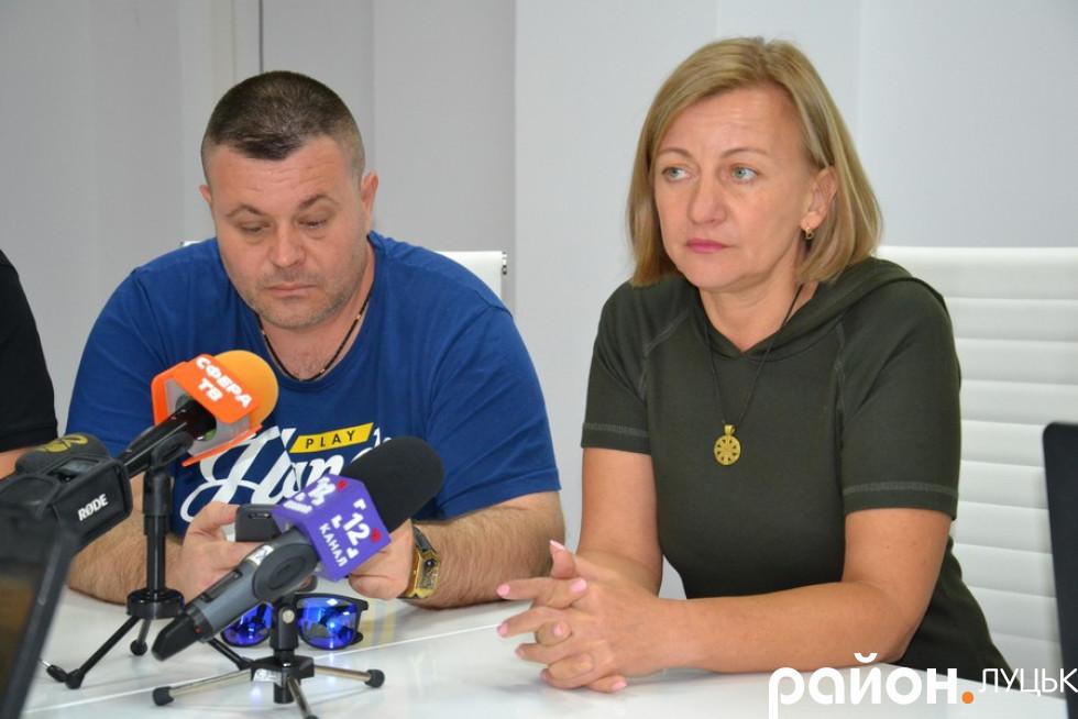 Андрій Фафлей та Олена Звєрєва