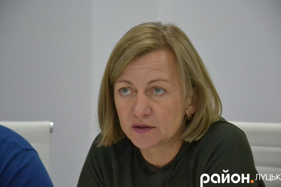 Психологиня Олена Звєрєва