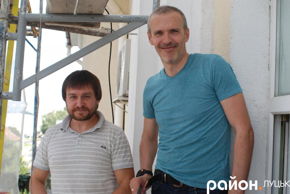 Олександр Ніколайчук та Ігор Корець