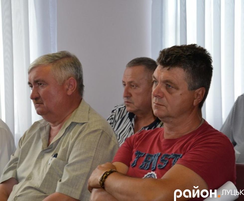 Обговорення тарифу на воду в Луцьку