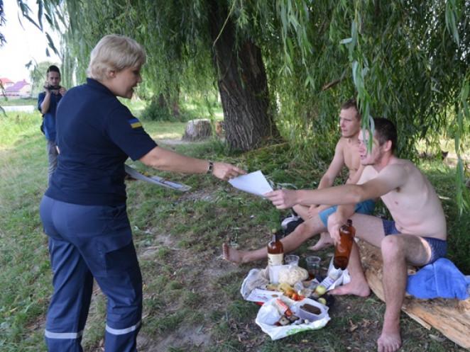 Рятувальники поговорили з лучанами