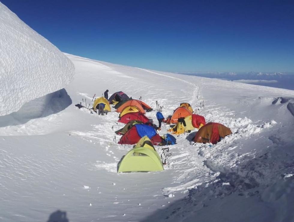 Намети альпіністів
