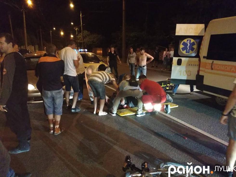 Аварія трапилась на перехресті вулиць Гнідавської та Потебні