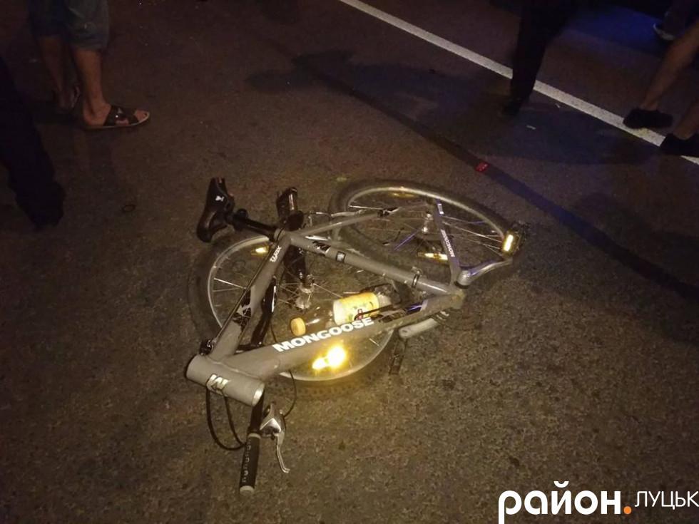 Збитий велосипед