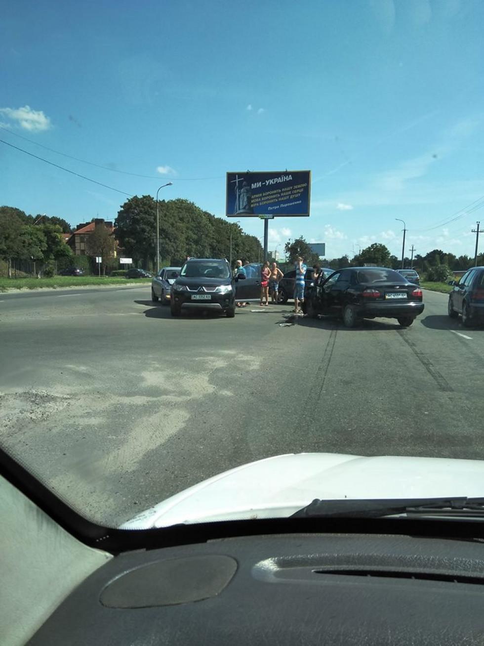 ДТП на перехресті