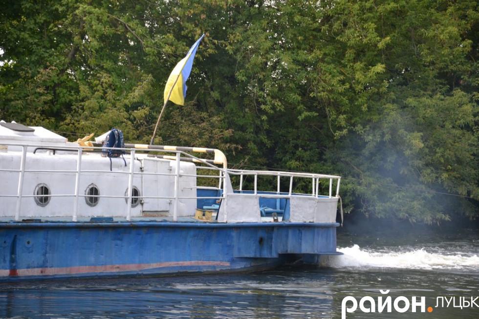 У Луцьку відновлюють судноплавство