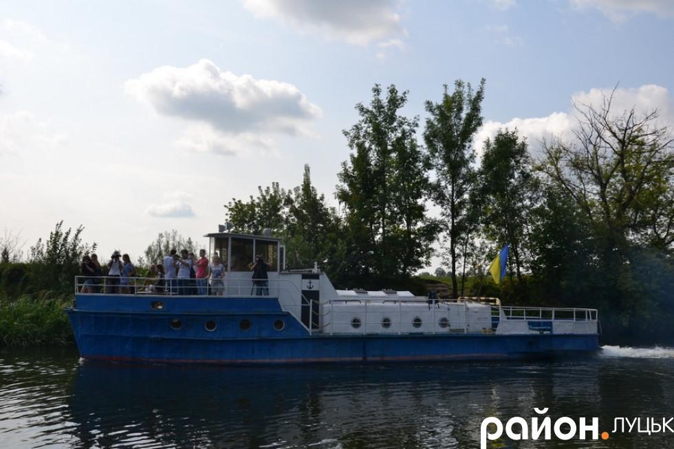 Жителі міста та гості зможуть відправитися у туристичну подорож річкою Стир
