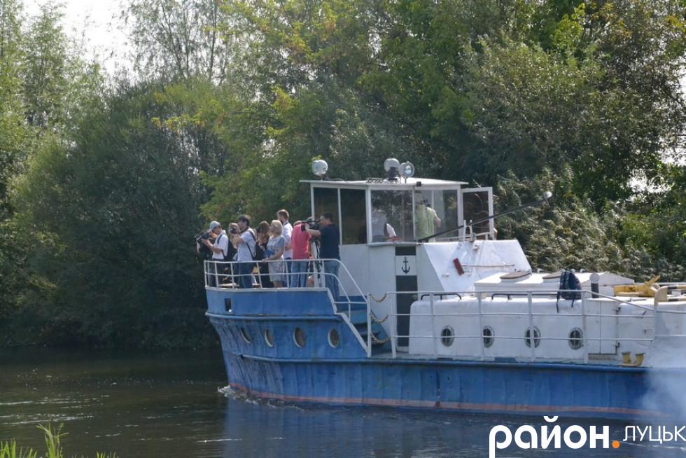 Останній раз пасажирів перевозили по ріці Стир у 1975 році