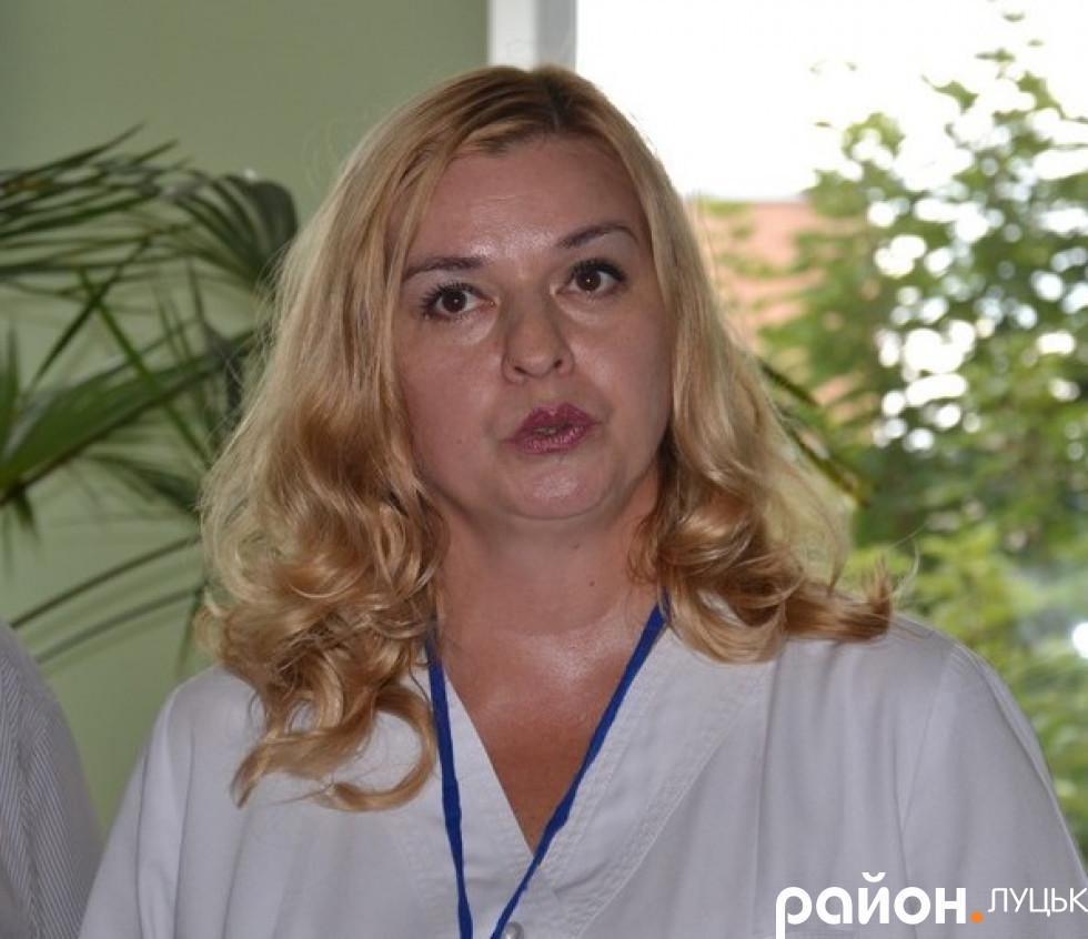 Оксана Лєщинська