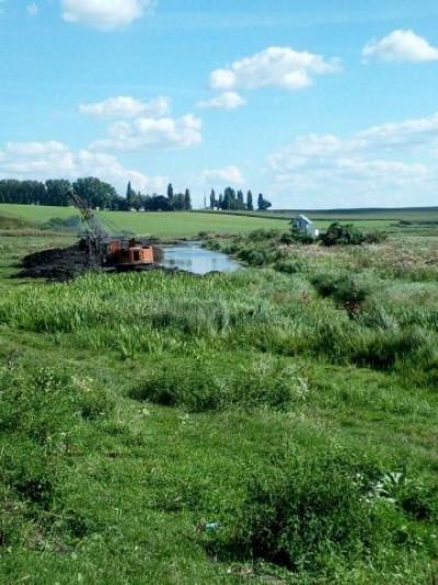 Ставок у селі Коршів Луцького районуочистили