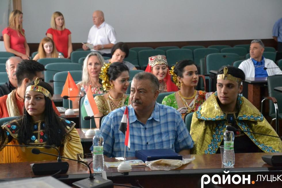 У Луцькраді зустріли гостей міжнародного фестивалю